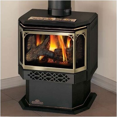 Direct Vent Pedestal Gas Stove