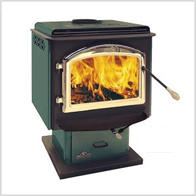 Deluxe EPA Wood Burning Pedestal Stove