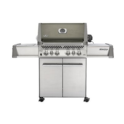 Napoleon Prestige 5-Burner Propane Gas Grill with Side Burner PRO500RSIBPSS