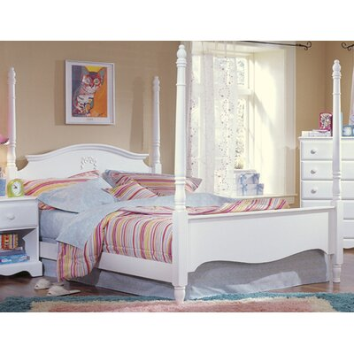 Carolina Cottage Four Poster Bed