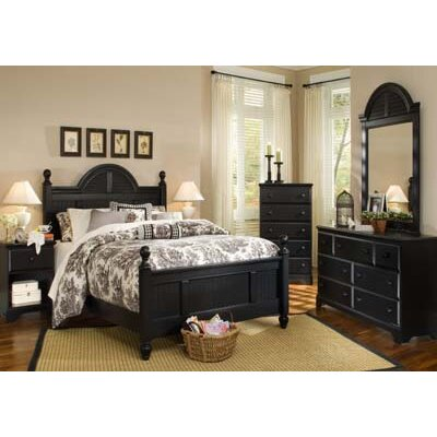 Midnight Panel Configurable Bedroom Set