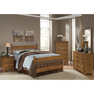 Creek Side Panel Customizable Bedroom Set