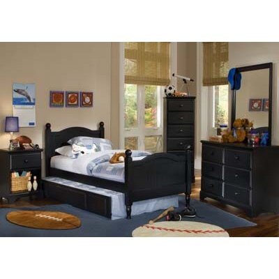 Midnight Panel Customizable Bedroom Set