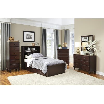 Storage Panel Customizable Bedroom Set