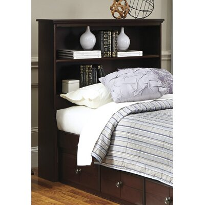 Bookcase Headboard Size: Full