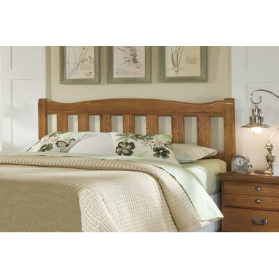 Creek Side Slat Headboard Size: King