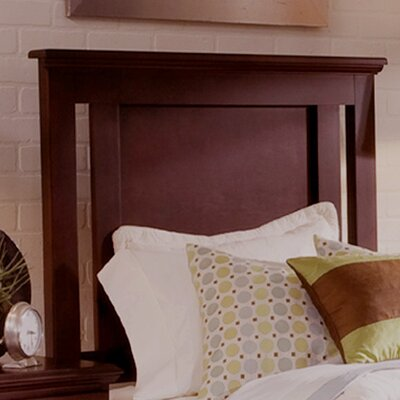 Rent Premier Panel Headboard Finish: Bro...