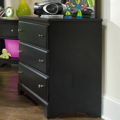 Midnight 3 Drawer Dresser