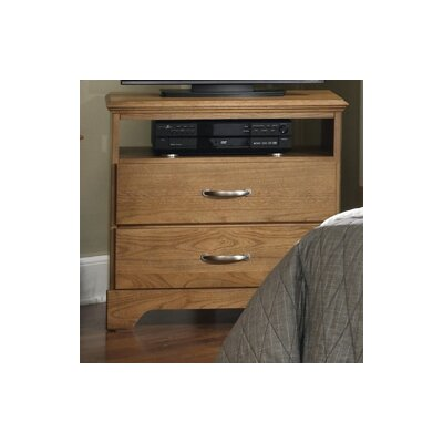 Sterling 2 Drawer Media Chest