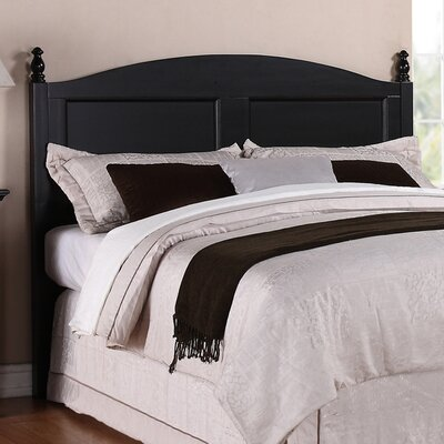 Renovations Full/Queen Panel Headboard Color: Vintage Ebony