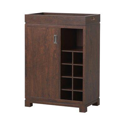 Groff Bar Cabinet with Wine Storage