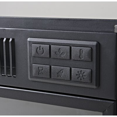 Anniston Media Electric Fireplace TV Stand