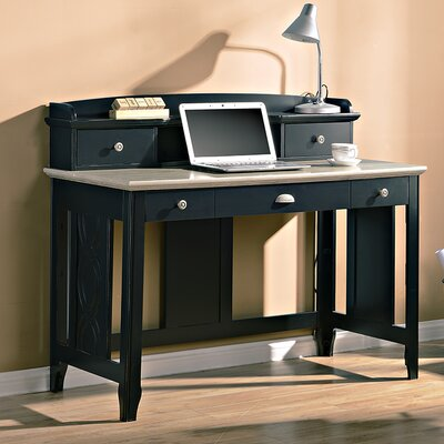 Charlotte Writing Desk Finish: Black