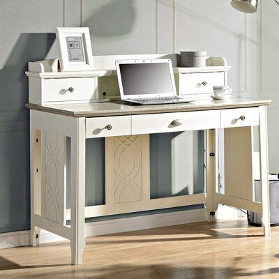 Charlotte Writing Desk Finish: White