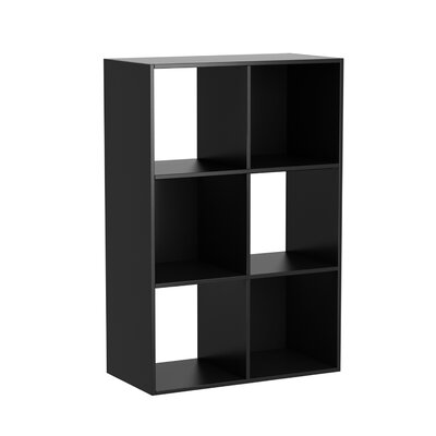 35 Cube Unit Bookcase Finish: Black