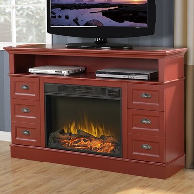 Flamelux Media 55 TV Stand with Fireplace