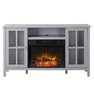 Langley 55.5 TV Stand with Fireplace