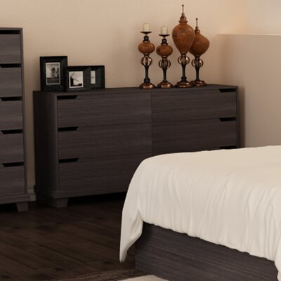 Waterloo 6 Drawer Chest Finish: Java Brown