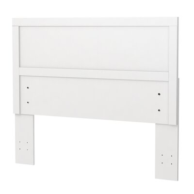 Alexander Full/Queen Panel Headboard Finish: Polar White