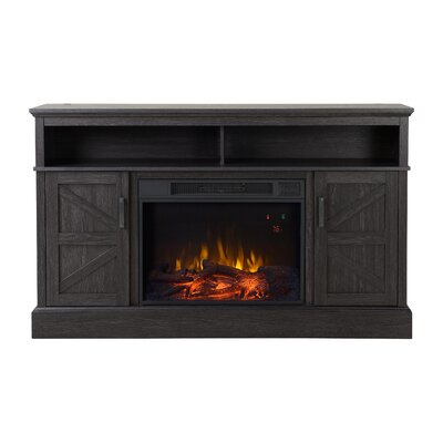 Aspen Media Electric Fireplace TV Stand