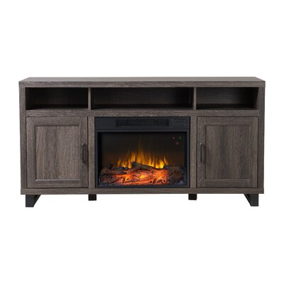 Dijon Media Electric Fireplace TV Stand