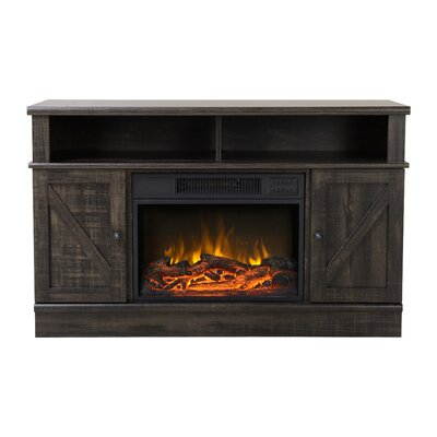 Kerry Media Electric Fireplace TV Stand