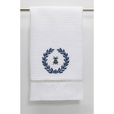 Waffle Weave Guest Hand Towel Color: Navy