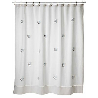 Carden 100% Cotton Percale Shower Curtain