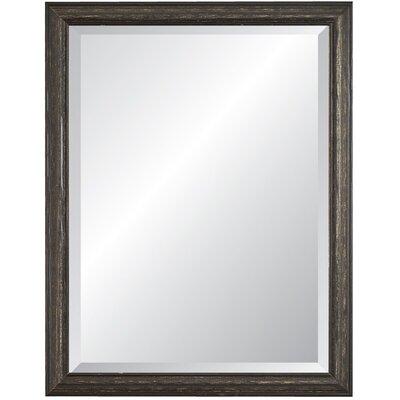 Savanah Wall Mirror Finish: Black