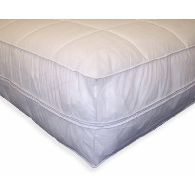 Bed Bug & Dust Mite Control Water Resistant Polypropylene All-In-One Mattress Pad & Protector Size: Queen