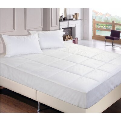 Bed Bug & Dust Mite Control Water Resistant Polypropylene Mattress Pad Size: King