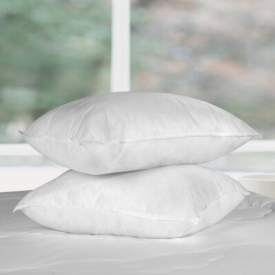 Bed Bug & Dust Mite Control Water Resistant Polyfill Pillow Size: Queen