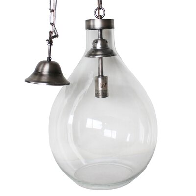Demijohn 1-Light Globe Pendant Size: Large