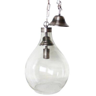 Demijohn 1-Light Globe Pendant Size: Small