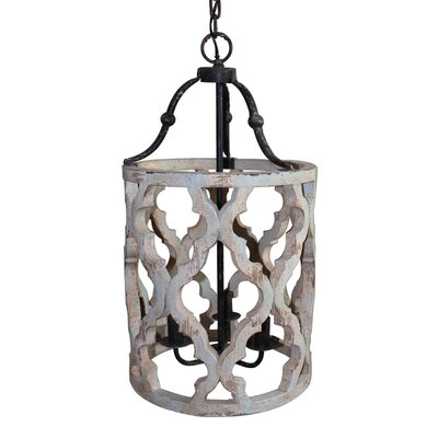 Jamaris 3-Light Foyer Pendant
