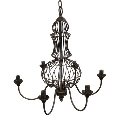 LaTayna 6-Light Candle-Style Chandelier