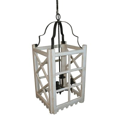 Raevon 4-Light Foyer Pendant