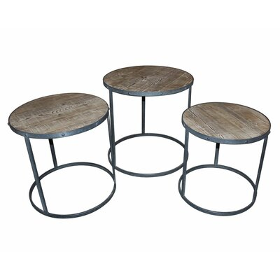 Marki 3 Piece Nesting Tables