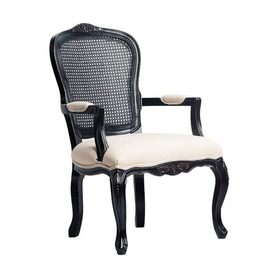 Anna Cane Back Arm Chair