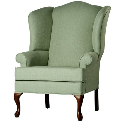 Alanya Wingback Chair Finish: Cadet