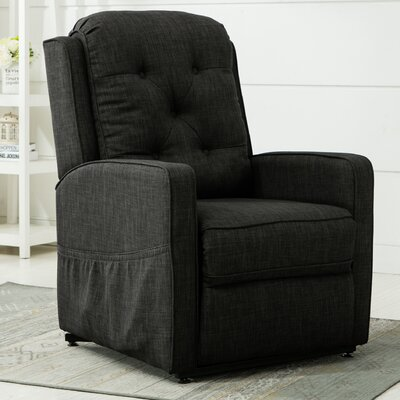 Paxton 3 Position Lift Chair Color: Charcoal