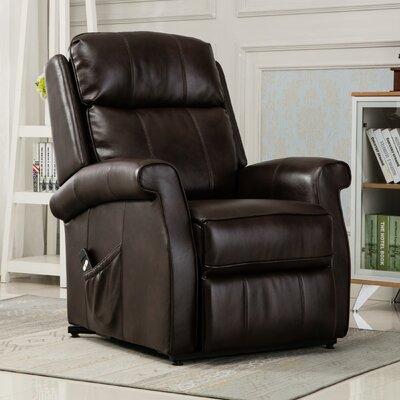Lehman Lift Chair Color: Brown