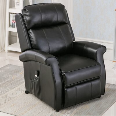 Lehman Lift Chair Color: Black