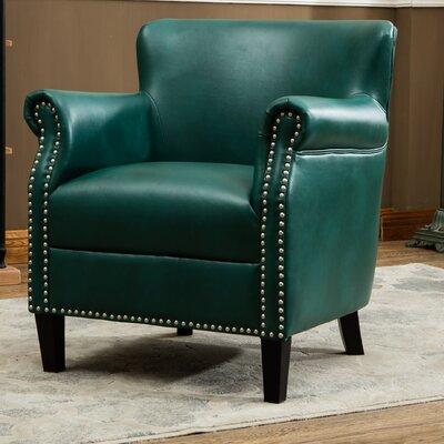 Waite Club Chair Upholstery: Teal