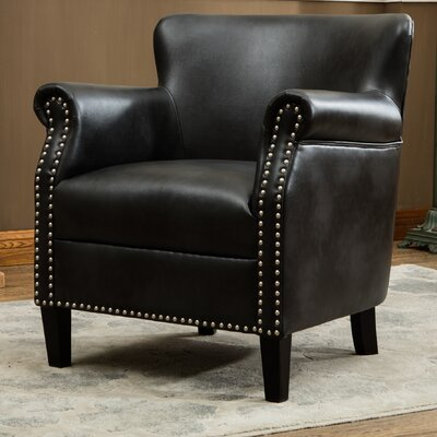 Waite Armchair Upholstery: Charcoal