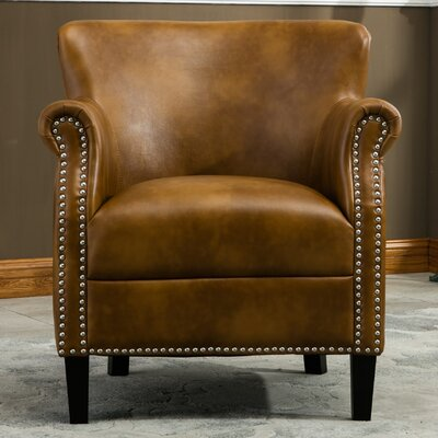 Odelia Armchair Upholstery: Camel