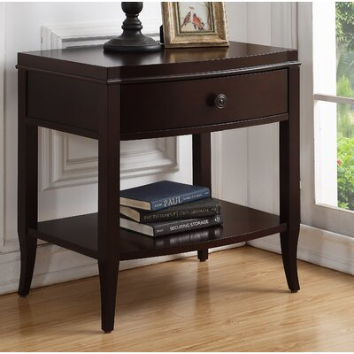 Darina 1 Drawer Nightstand