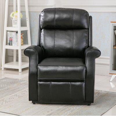 Lehman Power Lift Assist Recliner Color: Black