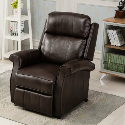 Lehman Power Lift Assist Recliner Color: Brown