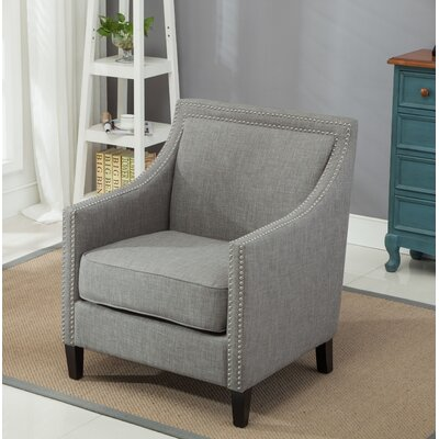 Turberville Armchair Upholstery: Gray